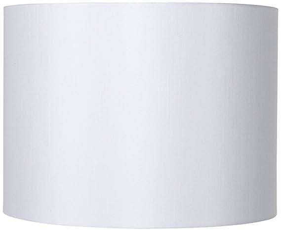 White hardback drum lamp shade 16x16x12 spider lampshades white hardback drum lamp shade 16x16x12 spider aloadofball Gallery