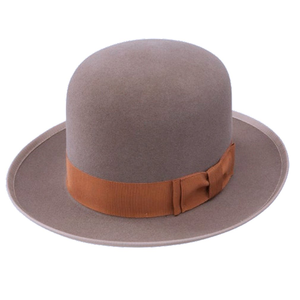 Stetson Royal Deluxe Racine Natural Fedora Size 7 1//8 Oval with 2 5//8 Brim