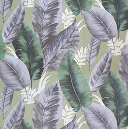 Green Leaf Wallpaper 53x565cm Self Adhesive Tapestry Landscape Peel And Stick Decorative Film Roll Shiplap 31 6 Square Feet Wall Covering For Kitchen