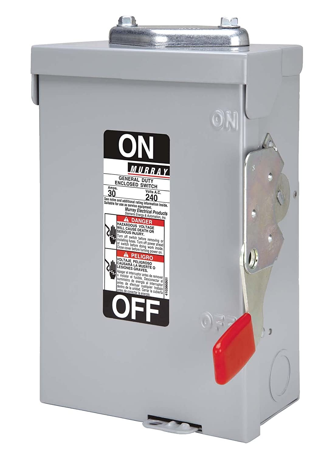 MURRAY GHN321NWU NEW ES 240-Volt, 2 Pole, FUS Outdoor Rated General ...