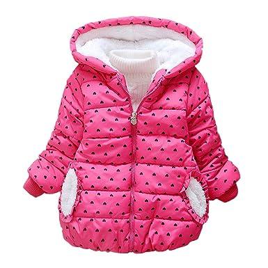 3f9b09d5 Zerototens Girls Coat,1-4 Years Old Toddler Baby Girls Long Sleeve ...