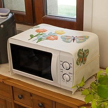 Campana del horno Cubierta del horno de microondas Rectángulo Cubierta de toalla multiusos Horno microondas A