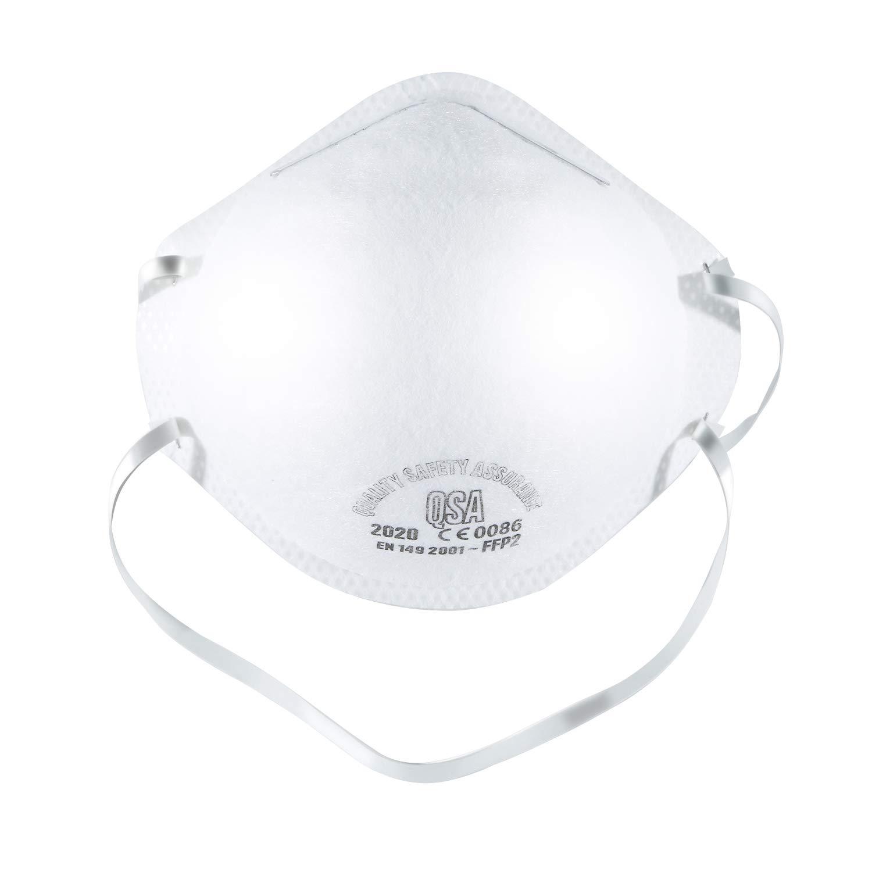 Máscara Antipolución N95 Mascarilla Válvula de Capas Filtro, FFP2 Grade Mask Gound 98% Bacterias Virus Anti Electrostatic Filter Material PM2.5 1 PCS