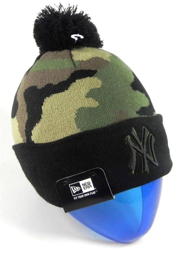 New Era New York Yankees Beanie Hat Men Camouflage Woodcamo Multi-Camo Knit