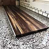 Extra Large Black Walnut Charcuterie Board 50x10 Inch