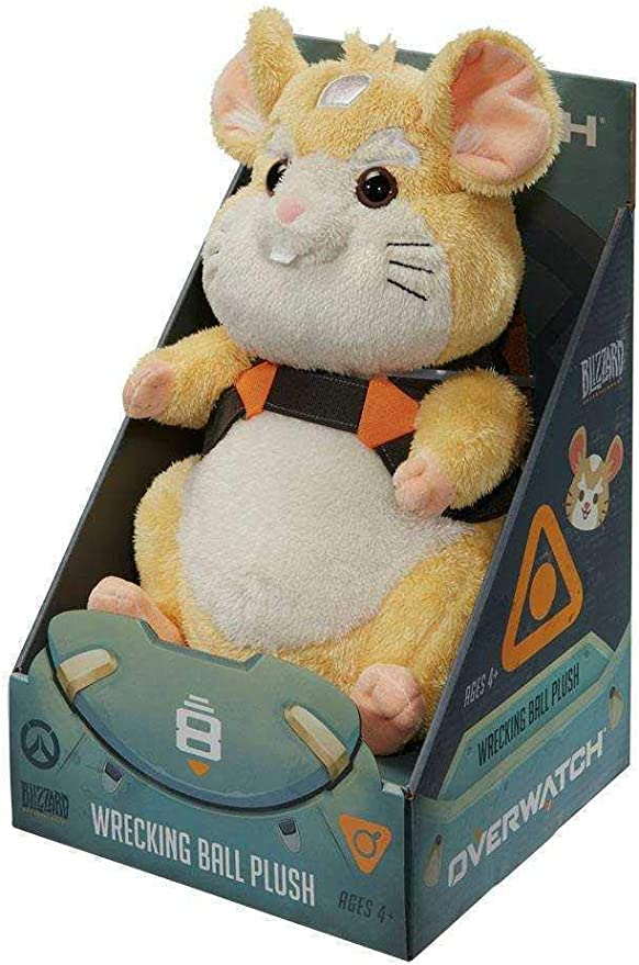 Overwatch Wrecking Ball - Pelota de peluche: Amazon.es: Videojuegos