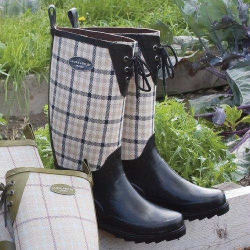 Laura Ashley Jardin contemporain Bottes de pluie–Mitford Carreaux (8)