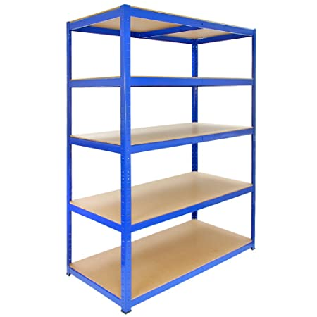 Monster Racking T-Rax Strong Storage Shelves Blue 120cm W 60cm D  sc 1 st  Amazon UK & Monster Racking T-Rax Strong Storage Shelves Blue 120cm W 60cm D ...