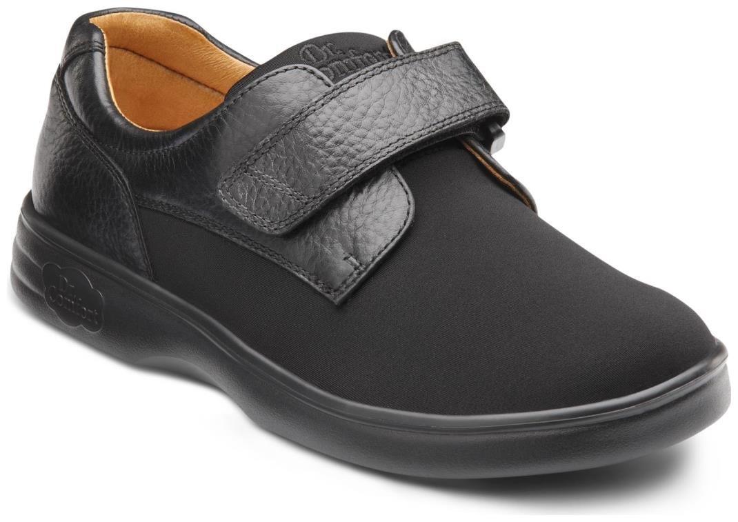 Dr. Comfort Annie Women's Therapeutic Diabetic Extra Depth Shoe: Black 8.5 X-Wide (E-2E) Velcro