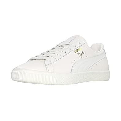 differently f35c3 548f1 Puma - Select Men's Clyde Natural Sneakers, Star White, 5 ...