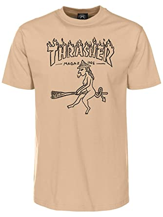10b47ad946d3 Amazon.com: Thrasher Witch T-Shirt: Clothing