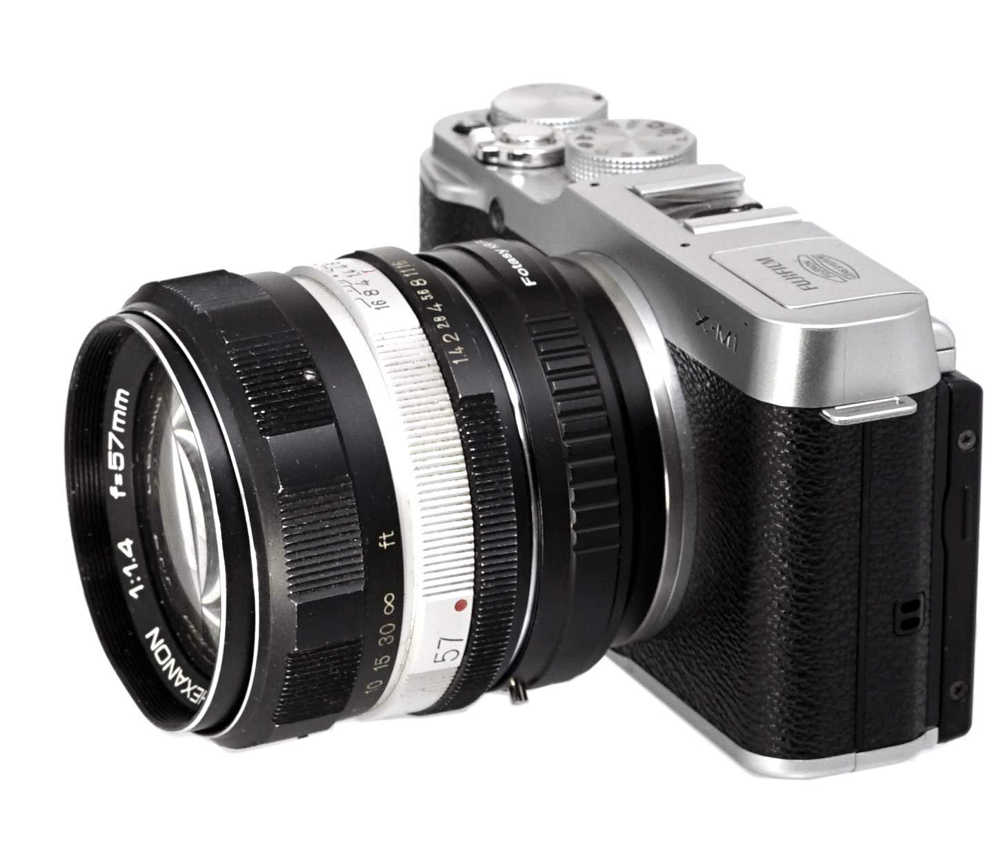 42mm Focusing Helicoid Fotasy M42 Lens to Fuji X Macro Focusing Helicoid Compatible with M42 Lens and X-Pro2 X-E1 X-E2 X-E3 X-A5 X-M1 X-T1 X-T2 X-T3 X-T10 X-T20 X-T30 X-H1