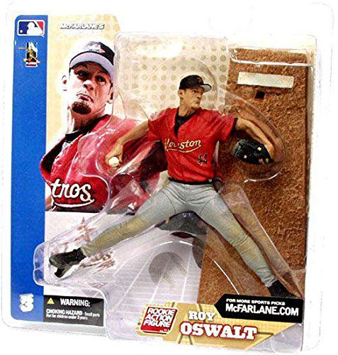 ROY OSWALT GREY PANTS VARIANT MLB Sports Pick McFarlane Baseball Figure Series 3 ()