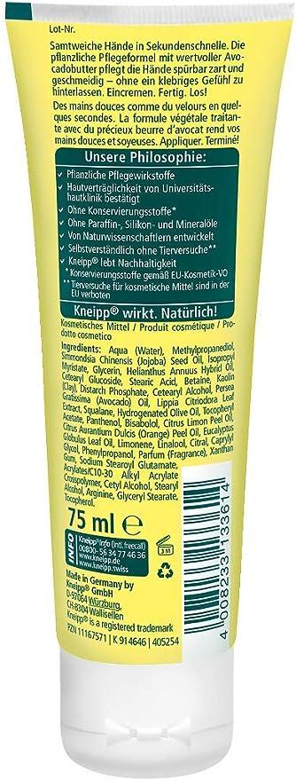 Kneipp Seconds Hand Cream 75 ml