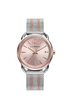 Reloj Viceroy Mujer 461070-95 Malla Bicolor Acero