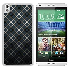Dotted Goldy (2) Durable High Quality HTC Desire 816 Phone Case