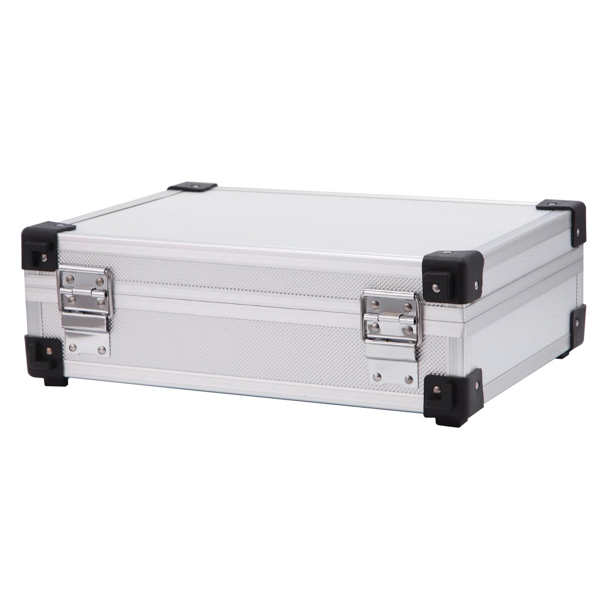 Professional Aluminum Hard Hand Gun Cases Office File Briefcase Outdoor Travel Flight Cases Home Tool Boxes with Quick Locks by ALUBOX (Image #6)
