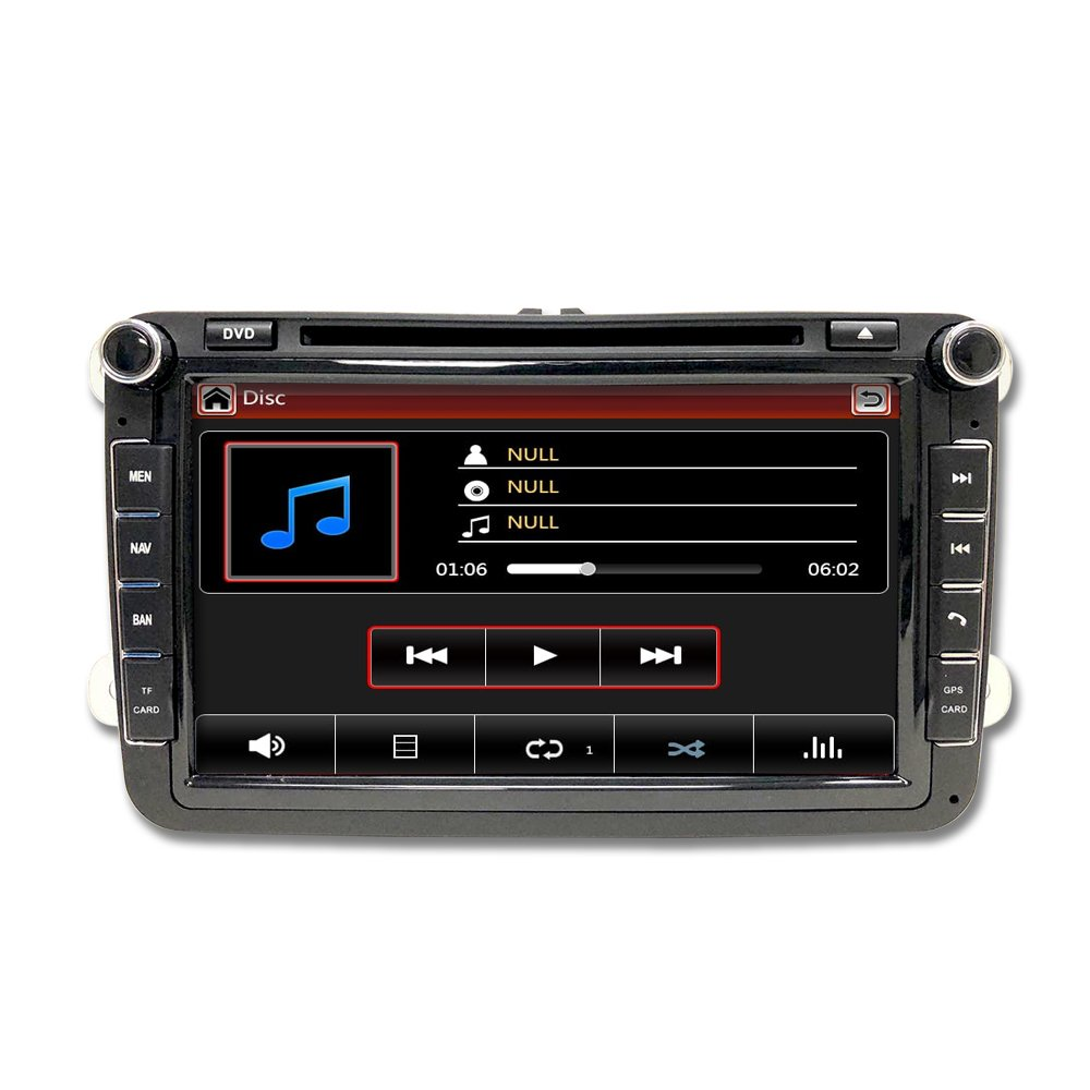 Volkswagen Jetta 07 11 Oem Replacement In Dash Double 02 Vw Audio Wiring Din Touch Screen Gps Dvd Ipod Navigation Radio 2009 2011 G6 Car Electronics