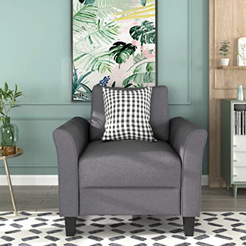 Reviewed: BEEY Upholstered Armchair Accent Arm Chair Sofa Noble Lounge Modern Single Sofa
