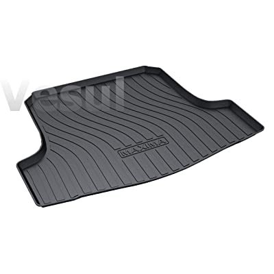 Vesul Rubber Rear Trunk Cover Cargo Liner Trunk Tray Floor Mat Carpet Fits on Nissan Maxima 2016 2020 2020 2020 2020: Automotive