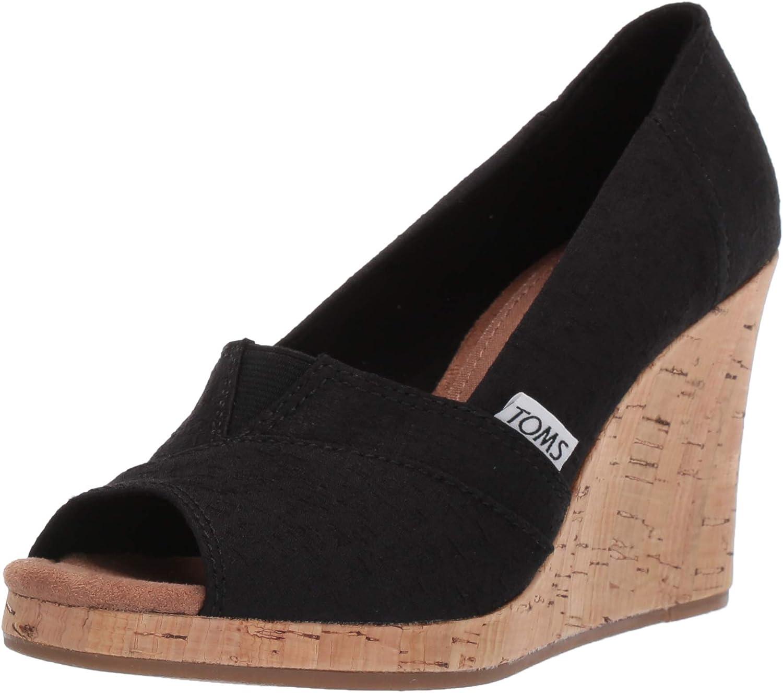 TOMS Women's Classic Wedge Sandal