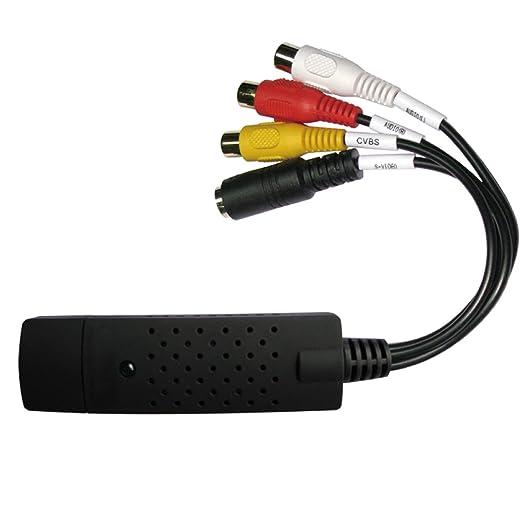14 opinioni per DigitNow!USB 2.0 Audio/Video Grabber   adattatore video VHS per le modifiche e