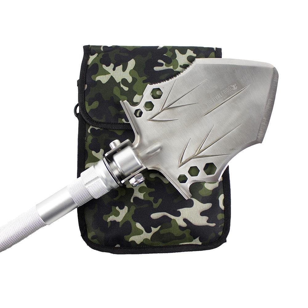 Stealth Tact Shovel - Modular Entrenching Tool Collapsible Shovel by Frog & Co.