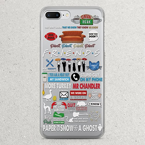 TV Show Friends iPhone X 8 7 6 6S plus case Marchand Phone Case for Apple iPhone 5 5S 5C SE 5se 4 4S Cases Central Perk How You Doin Fandom t-shirt Phone Protective Cover