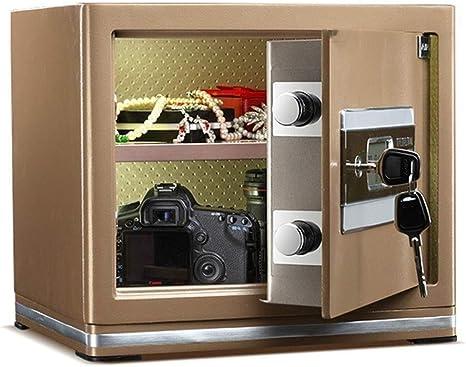 Wtbew-u Caja fuerte segura for el hogar, llave Caja de documentos ...
