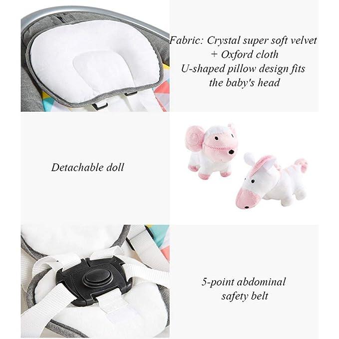 Amazon.com: TONGSH - Silla mecedora para bebé, ideal para ...