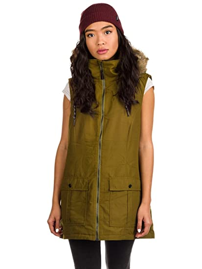 Volcom Womens Longhorn Butter Twill Insulated Vest
