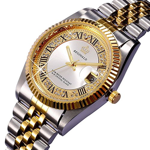 unisex stainless steel watch - 1