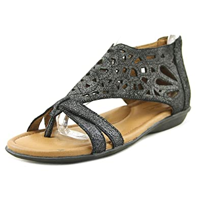 10b082ebcac Rockport Cobb Hill Collection Women's Cobb Hill Jordan Dark Pewter Sandal