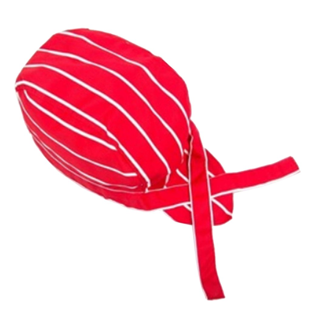 gazechimp Gorra De Calavera Pirata Gorra De Chef Sombrero De Camarero Gorra De Chef Profesional De Catering 13 Tipos Individual Chile Rojo