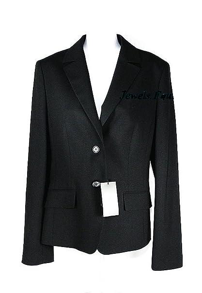 Amazon.com: hugo boss azul marino/negro lana negocios janna3 ...