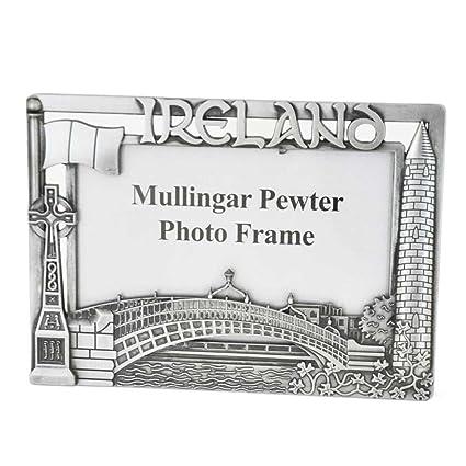 Amazon.com - Mullingar Pewter Photo Frame With Dublin Ireland Design ...