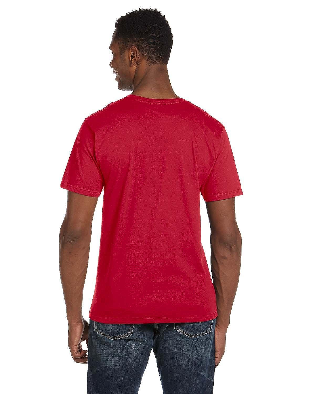 Anvil Lightweight V-Neck T-Shirt RED 982