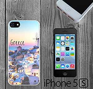 Beautiful Greece Custom made Case/Cover/Skin For SamSung Galaxy S4 Mini Phone Case Cover -White- Hard Case (Ship From CA)