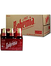 Cerveza Bohemia Clasica Media - Caja con 4 Six Packs de 355 ml