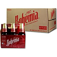 Cerveza Bohemia Clasica Media - Caja con 4 Six Packs de 355 ml