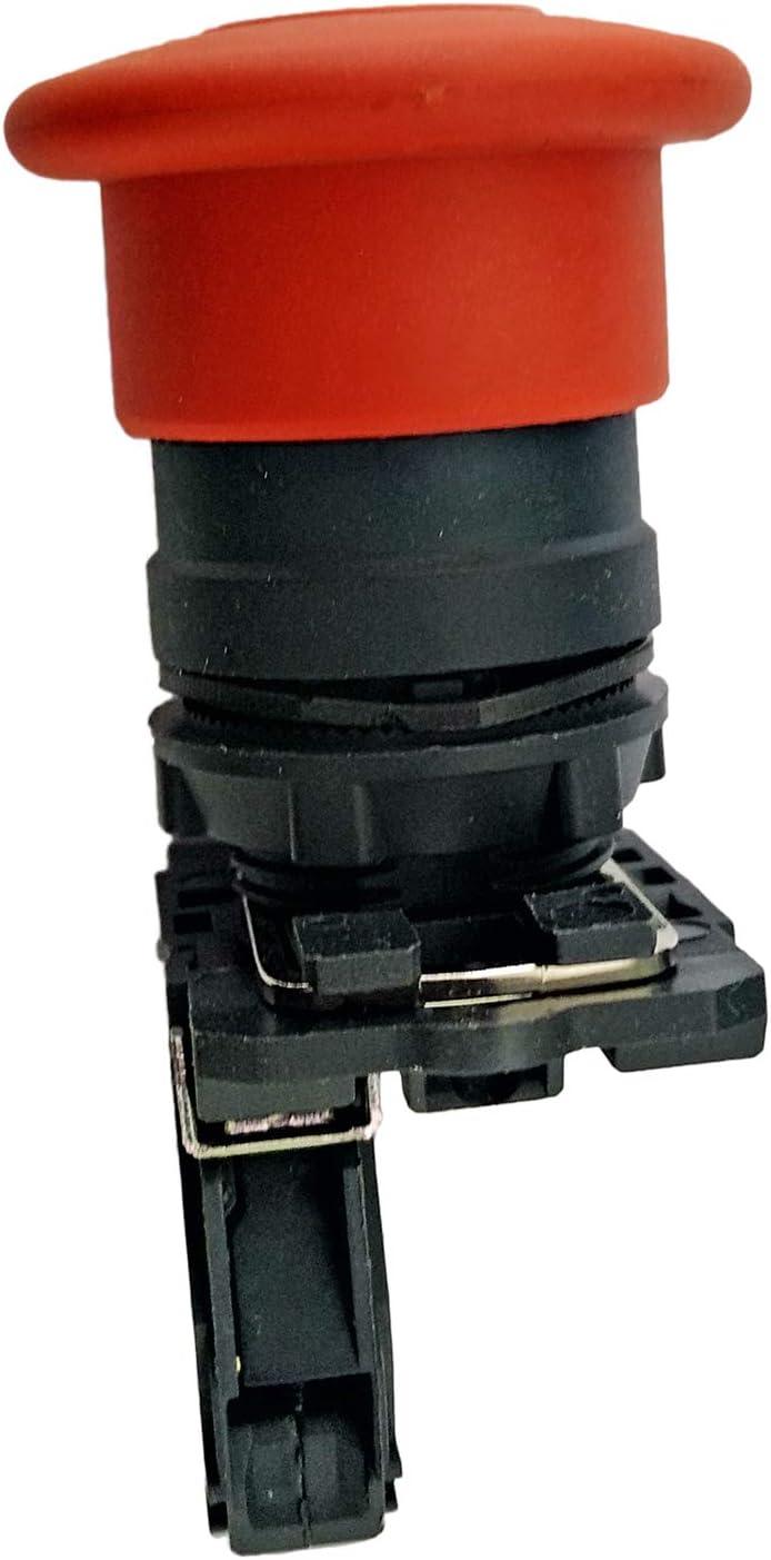E-Stop Switch 66761GT 66761 for Genie Lift GS-1530 GS-1930 GS-2032 GS-2046 GS-2632 GS-2646 GS-2668 GS-3246 GS-3268