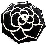 [イヴ エヴァン] カメリア 晴雨兼用 エレガント 日傘 折りたたみ 傘 レディース