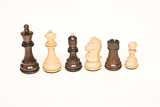 115 Rosewood & Boxwood 3.75 Chess Set