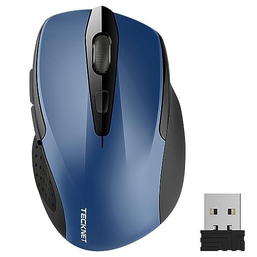 2134 opinioni per TeckNet Pro Mouse Senza Fili, 2600DPI, Durata delle batterie di 24 Mesi, 2.4G