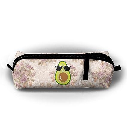 Cartoon Funny icono de aguacate con gafas de sol pequeño ...