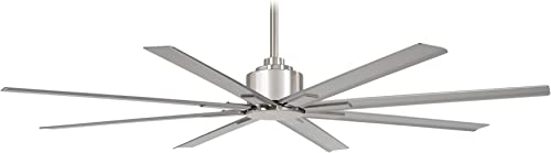 65″ Minka Aire Xtreme H2O Indoor/Outdoor Brushed Nickel Wet Ceiling Fan
