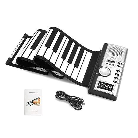 Juguete Electrónico de Piano de Teclado Juguete de Tambor de Mano Piano de Juguete para Niños