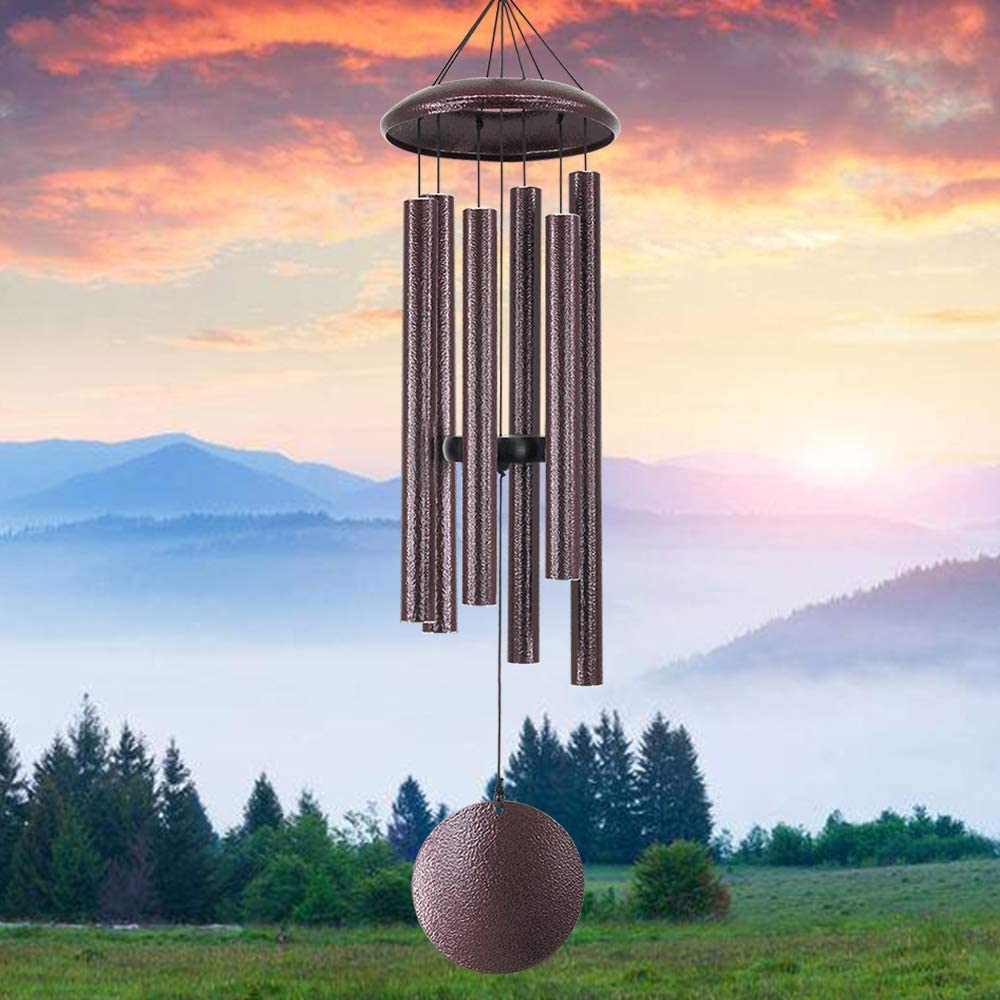 sinfinate Wind Chime Outdoor Deep Tone,36-Inch Large Sympathy Windchimes for Funeral,As Sympathy Gifts Unique for a Loved One,in Memory for Mom Dad,Outdoor Decoration for Garden,Xmas,Yard, Porch