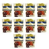 Golden Rewards Chicken Jerky Recipe for Dogs (Made with Real Chicken Breast), 16 Oz - 10 Pack