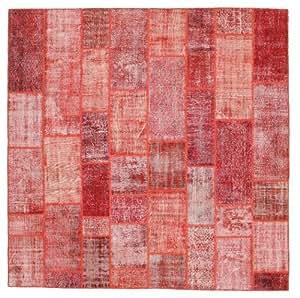 Alfombra patchwork 303x302 hogar - Alfombras dormitorio amazon ...